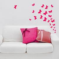 Акция! Наклейка Маленькие бабочки