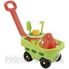 Игровой набор Тележка садовника с аксессуарами 27 см Ecoiffier 000344