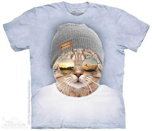 dbffb9df97c4a Футболка The Mountain - Cool Hipster Cat, цена 550 грн., купить в  Кропивницком — Prom.ua (ID#711203046)