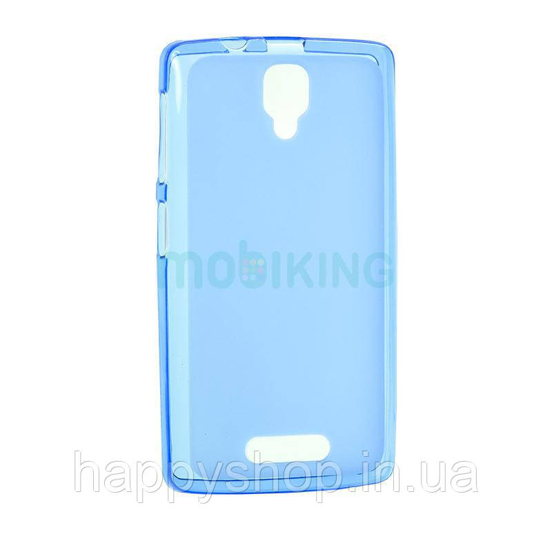 Силиконовый чехол-накладка для Lenovo A319 (Blue)