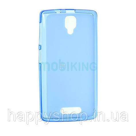 Силиконовый чехол-накладка для Lenovo A319 (Blue), фото 2