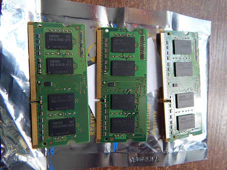 Память Samsung DDR3 1Gb  PC3 8500s  для ноутбука, фото 2