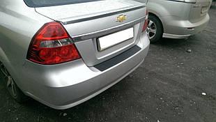 Chevrolet Aveo T250 (2006-2011) / Накладка на задний бампер