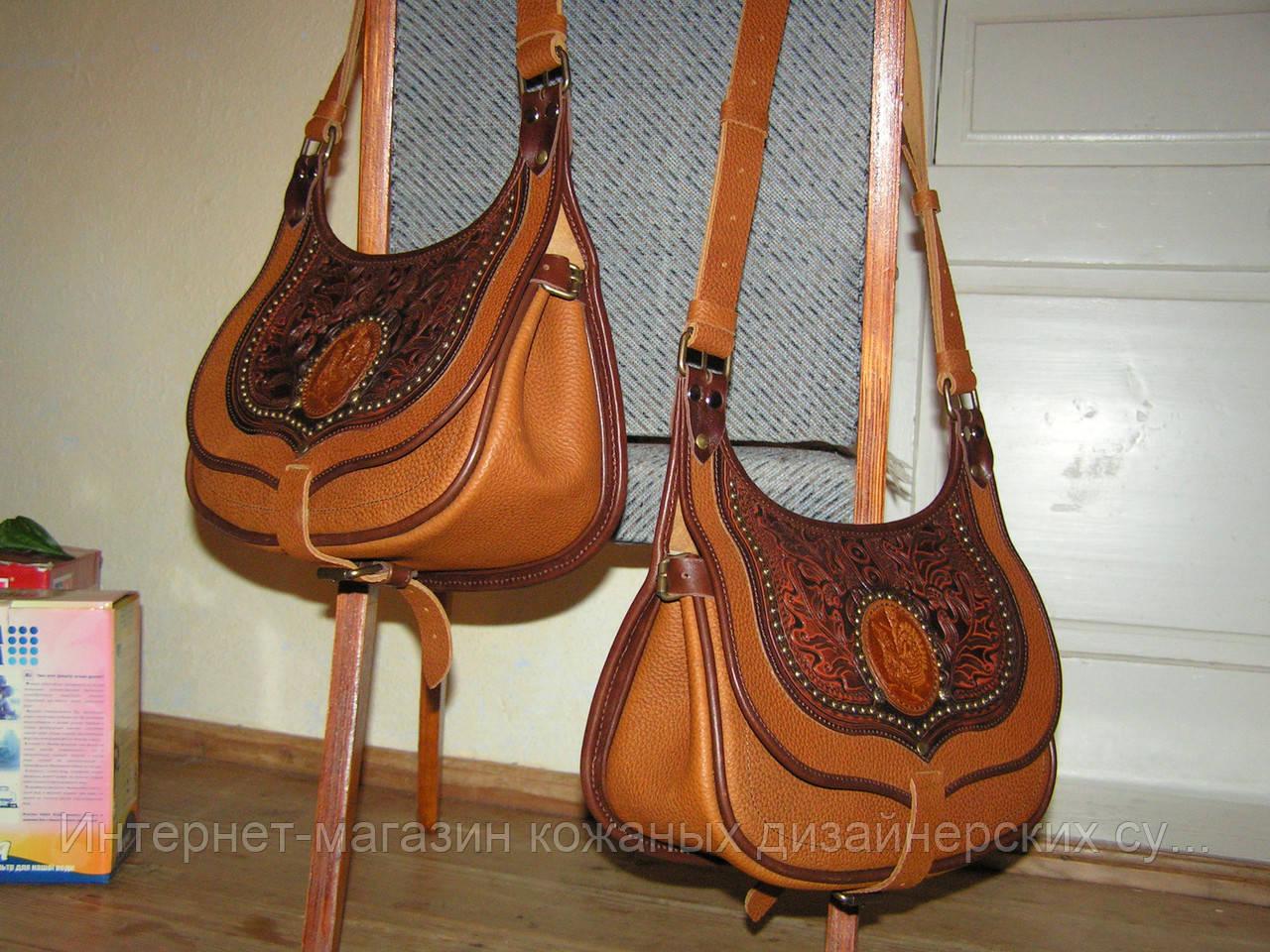 76eedb8ddd99 Кожаная сумка ручной работы