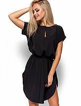 Женское платье свободного кроя с поясом (Тринити kr), фото 2