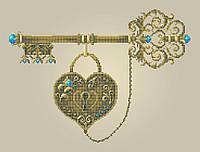 Схема для вышивки / вышивания бисером «Ключ щастя» (A3) 30x40
