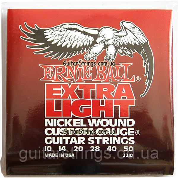 Струны Ernie Ball 2210 Custom Gauge 10-50 Wounded 3-rd G