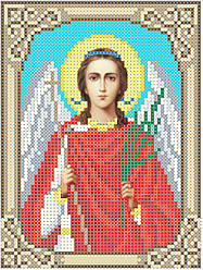 Схема для вышивки / вышивания бисером «Ангел хранитель» (A6) 10x15