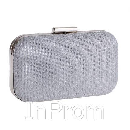 Вечерняя сумка Bluebell Classical Silver, фото 2