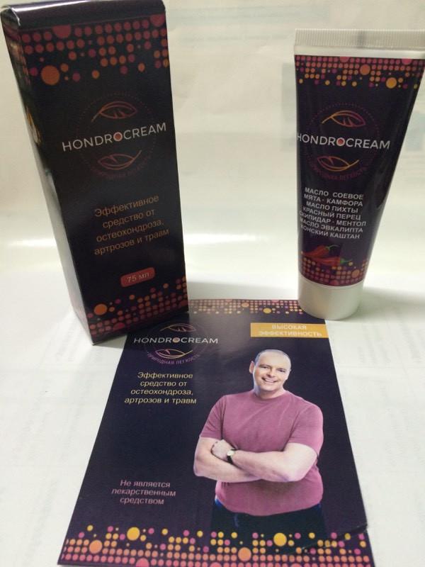 Hondrocream - крем от остеохондроза, артрозов и травм (Хондрокрем)