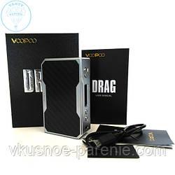 Бокс мод VooPoo DRAG 157W TC (оригинал) Карбон