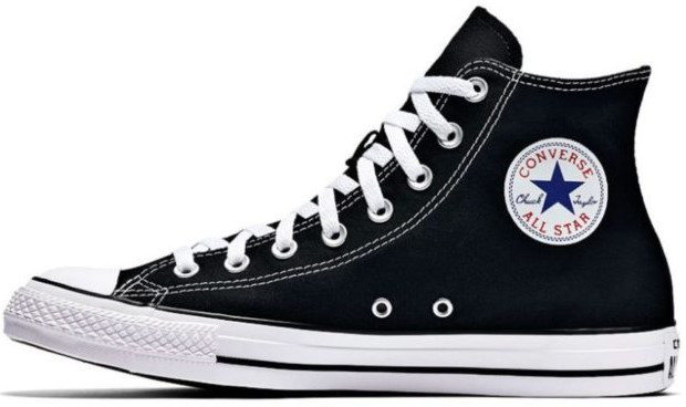 Мужские кеды Converse All Star (Конверс) черно-белые - Магазин обуви JSJ в 04344076b32