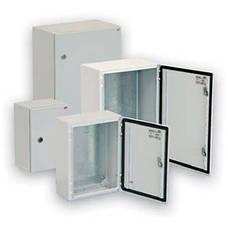 Металлические шкафы с монтажной панелью GT (IP66, RAL 7035)