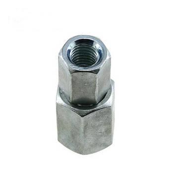 Гайка соединительная М12 DIN 6334 удлиненная из нержавейки А2 и А4, фото 2