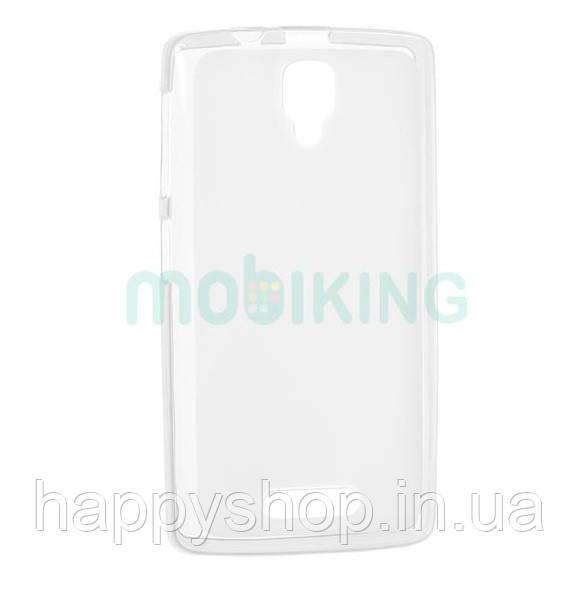 Силиконовый чехол-накладка для Lenovo A319 (White)