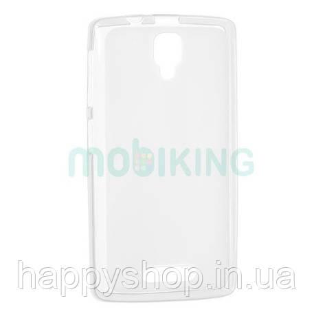 Силиконовый чехол-накладка для Lenovo A319 (White), фото 2