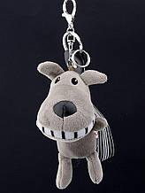 Брелок Собака Ткань