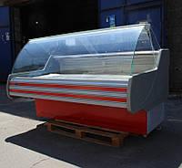 """Холодильная витрина """"Технохолод Невада ПВХС"""" (Динамика) 2,0 м. Бу, фото 1"""