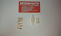 Разъем электрический 4 контакта разборной Д=2.8 мм.