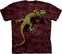 Футболка The Mountain - Peace Out Gecko