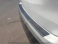 Защитная накладка на задний бампер Toyota Highlander 2014-2018