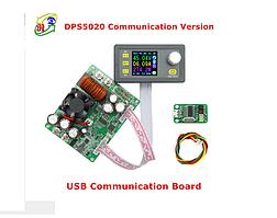 DPS5020 программируемый понижающий преобразователь напряжения 50V 20A с USB платой