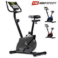 Магнитный велотренажер Hop-Sport HS-2070 Onyx silver до 120 кг.
