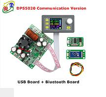 DPS5020 программируемый понижающий преобразователь напряжения 50V 20A с Bluetooth платой