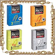 Презервативы SICO 3 шт./уп., 24 уп./кор.