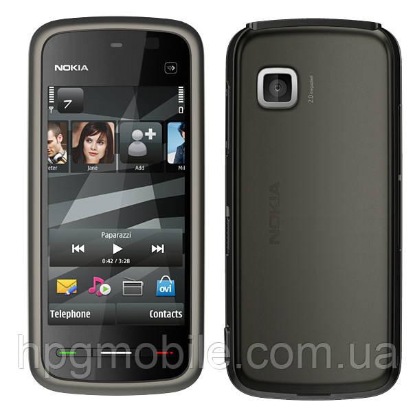 Корпус для Nokia 5228, 5230, с клавиатурой, черный, оригинал - HPG Mobile