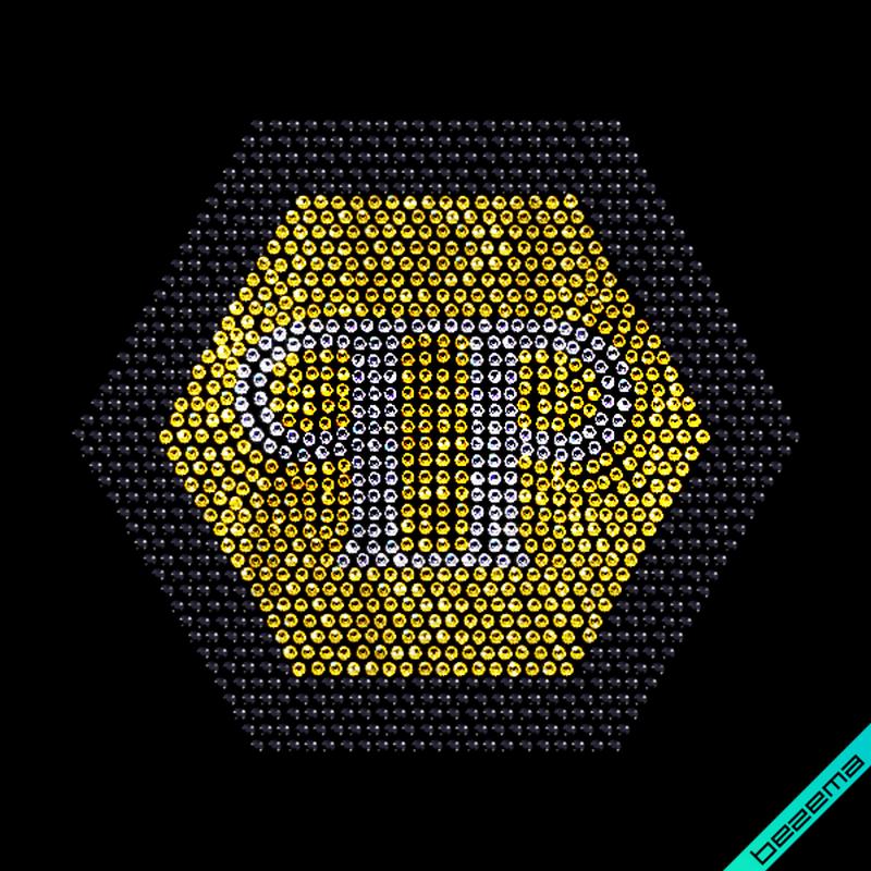 Дизайн на пояса Phillip Логотип (Стекло,2мм-зол.,2мм-черн.,2мм-бел.)