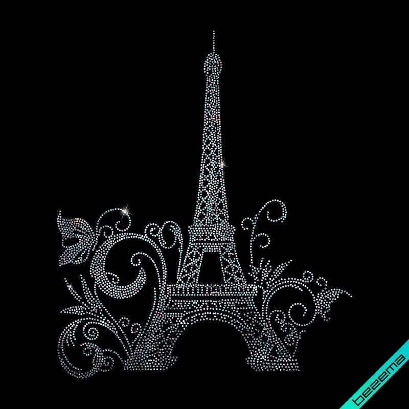 Термотрансфер на платья Paris (Стекло,2мм-бенз.)