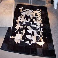 Черно белые ковры, пятнистые ковры, ковры Киев, фото 1