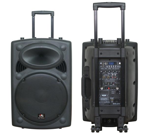 Акустична система активна HL AUDIO USK12A BT/USB з 2 вбудованими мікрофонами