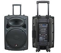 Акустична система активна HL AUDIO USK12A BT/USB з 2 вбудованими мікрофонами, фото 1