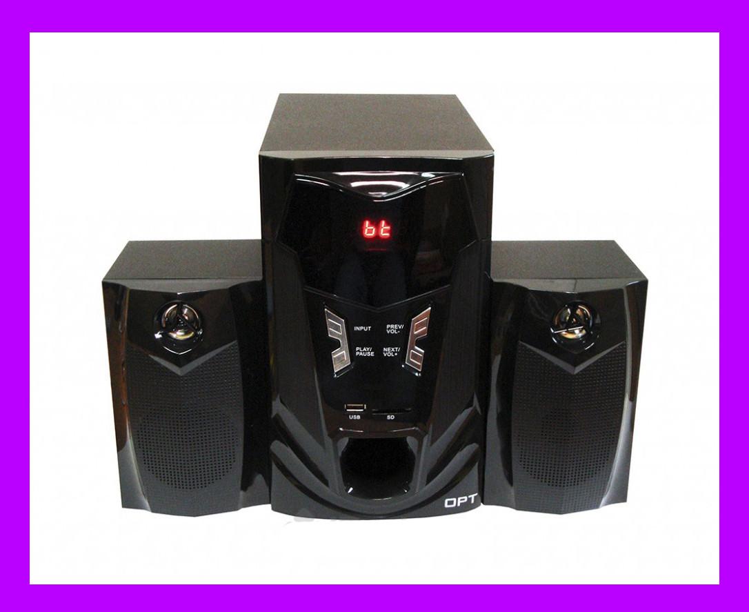 Акустическая система 2.1 Optima OPT-3000BT!Акция