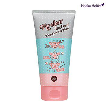 Очищающая поры пенка Holika Holika Pig Clear Dust Out Deep Cleansing Foam