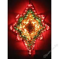 Електрогирлянда панно новогодняя звезда
