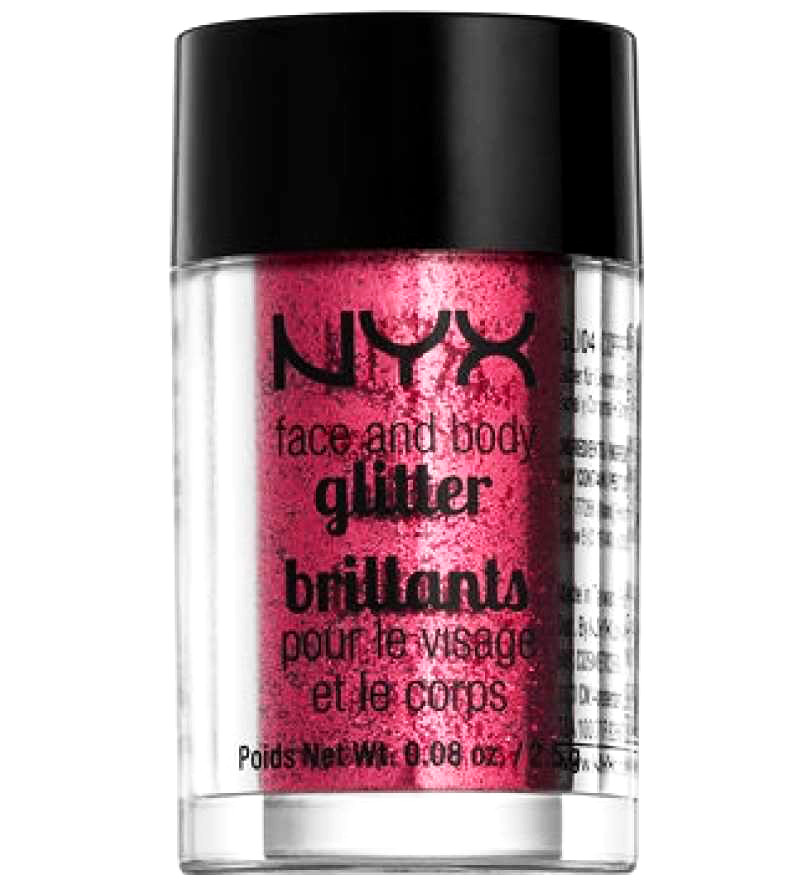 NYX Glitter Brilliants Red 09
