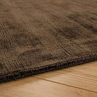 Шоколадный ковер, ковры под шелк из бананового шелка, индийские ковры,натуральные современные ковры