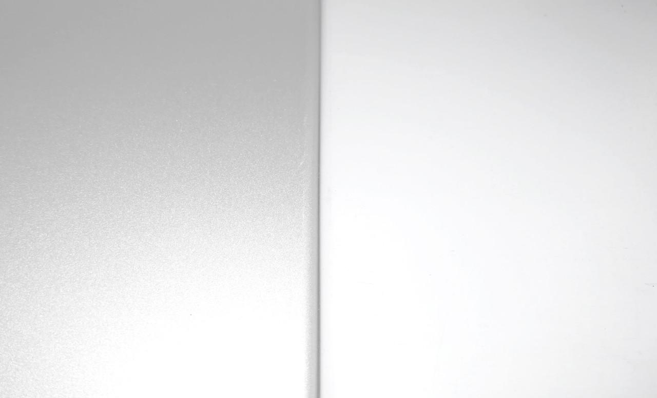 Алюминиевая фасадная вагонка белая