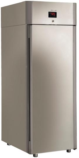 Шафа холодильна шафа Polair cv107-gm alu