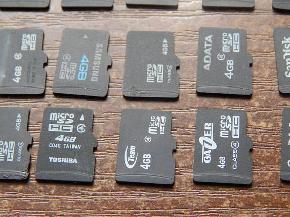 Карта памяти Micro SD 4 Gb , фото 2