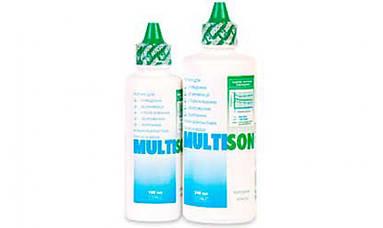Раствор для контактных линз Модель Multison 100 ml