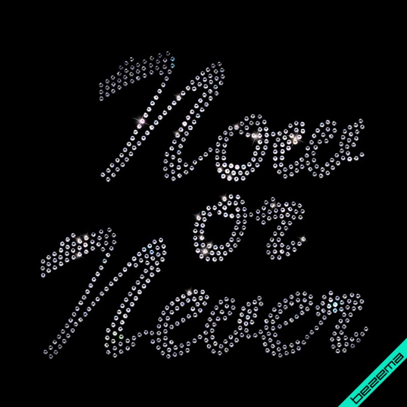 Термоаппликации на вышиванки Now or never (Стекло,3мм-бел.)