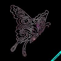 Термотрансфер на одеяла Бабочка (Стекло,3мм-роз.), фото 1