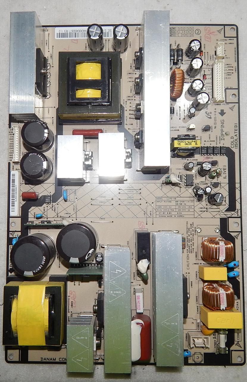 Блок живлення BN96-04214A LLPS-40 для телевізора Samsung LE40M91B