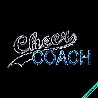 Аплпикации на папки Cheer Coach (Стекло,2мм-бел.,2мм-бенз.св.син.)