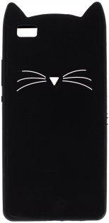 Чехол Milkin for Huawei P8 Lite - Superslim Kitten Black
