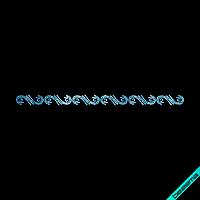Термоаппликации на бейсболки Орнамент (Скло,2мм-аквамари.)